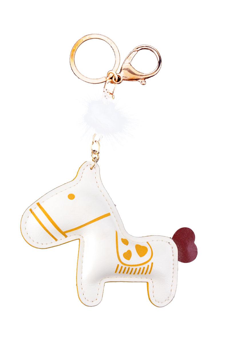 Стильный и практичный аксессуар, который можно использовать в разных целях, послужит достойным украшением для сумочки, одежды или ключей.