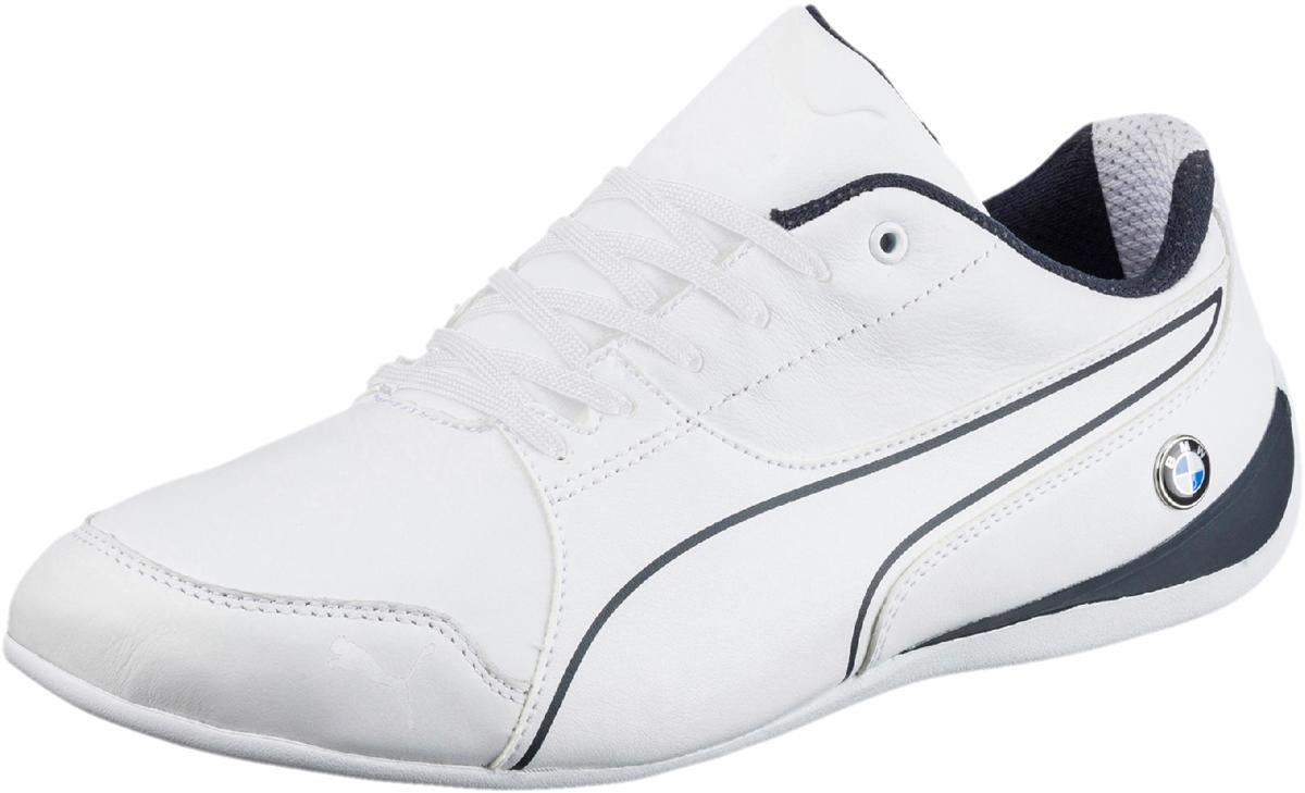 Кроссовки мужские Puma Bmw Ms Drift Cat 7, цвет: белый. 30598602. Размер 10,5 (44)