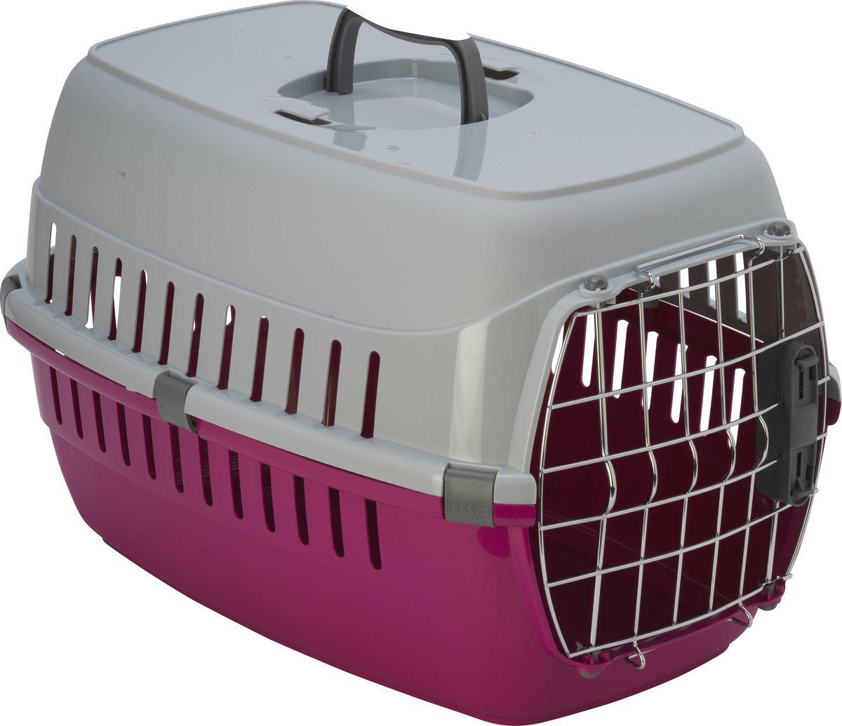 Переноска для животных Moderna Roadrunner 2, для авиаперевозок, замок IATA, цвет: ярко-розовый, 58 x 35 x 37 см oem diy 45 x 35 45x35cm