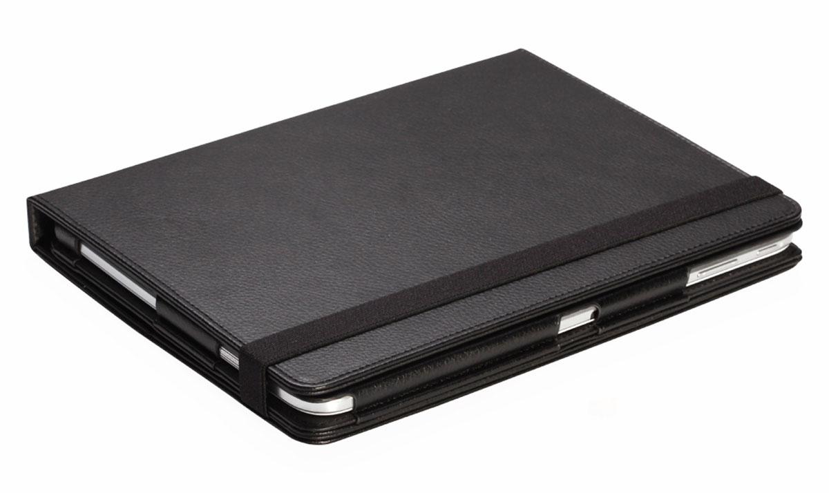 IT Baggage поворотный чехол для Huawei Media Pad M3 Lite 10, BlackITHWM311-1Чехол для планшета IT Baggage надежно защищает планшет от случайных ударов и царапин, а так же от внешних воздействий, грязи, пыли и брызг. Крышка используется как подставка по устройство. Чехол обеспечивает свободный доступ ко всем функциональным кнопкам.