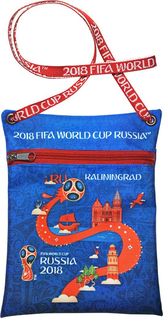 Сумка для документов FIFA Kaliningrad, цвет: синий, 16 х 20 смF-01-KD-BLУдобная сумка с символикой Чемпионата мира по футболу позволит держать документы и ценные вещи под рукой во время матча или в поездке.
