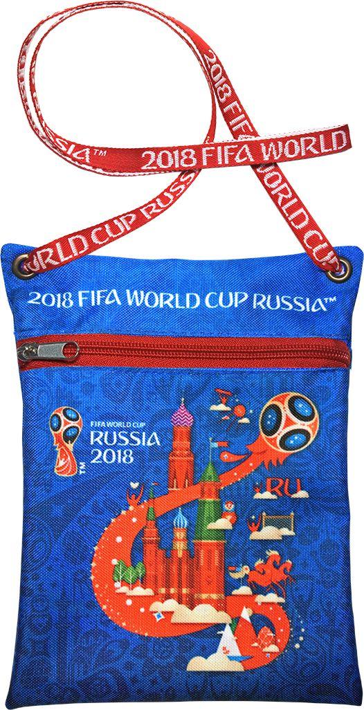 Сумка для документов FIFA Russia 2018, цвет: синий, 16 х 20 смF-01-RUS-BLУдобная сумка с символикой Чемпионата мира по футболу позволит держать документы и ценные вещи под рукой во время матча или в поездке.