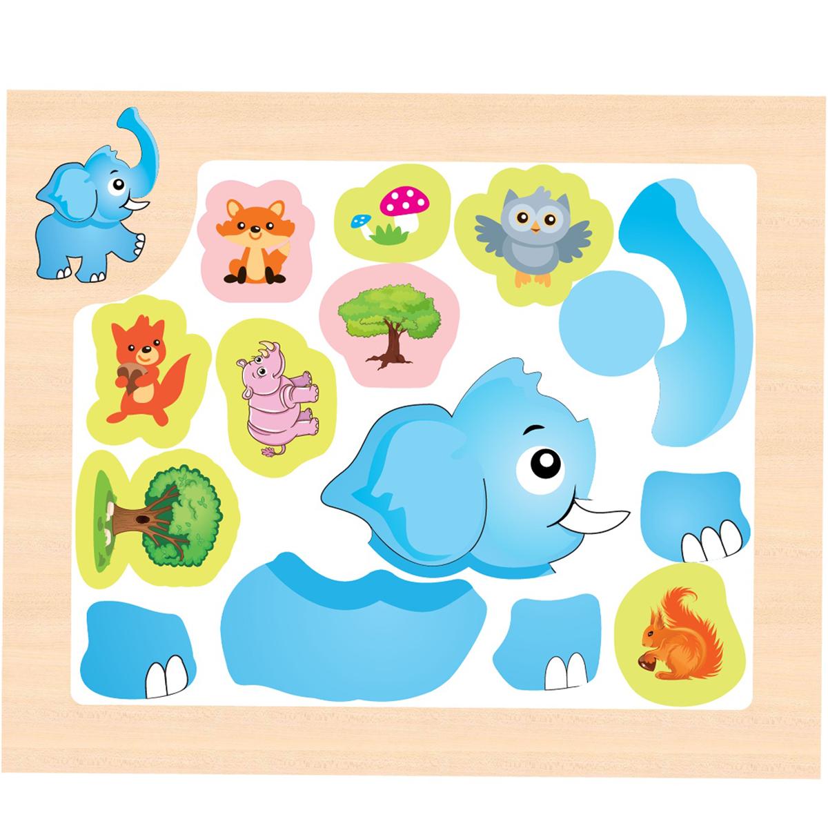 Mapacha Магнитная игра Собери картинку наборы для рисования лавка чудес развивающая игра собери и раскрась истребитель