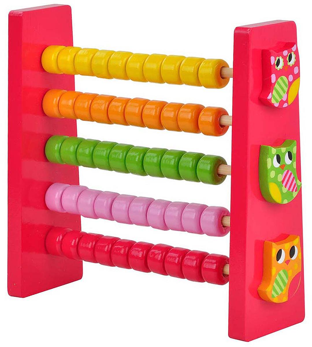 Mapacha Обучающая игра Счеты Совята игрушка деревянная mapacha развивающая игра готовим завтрак