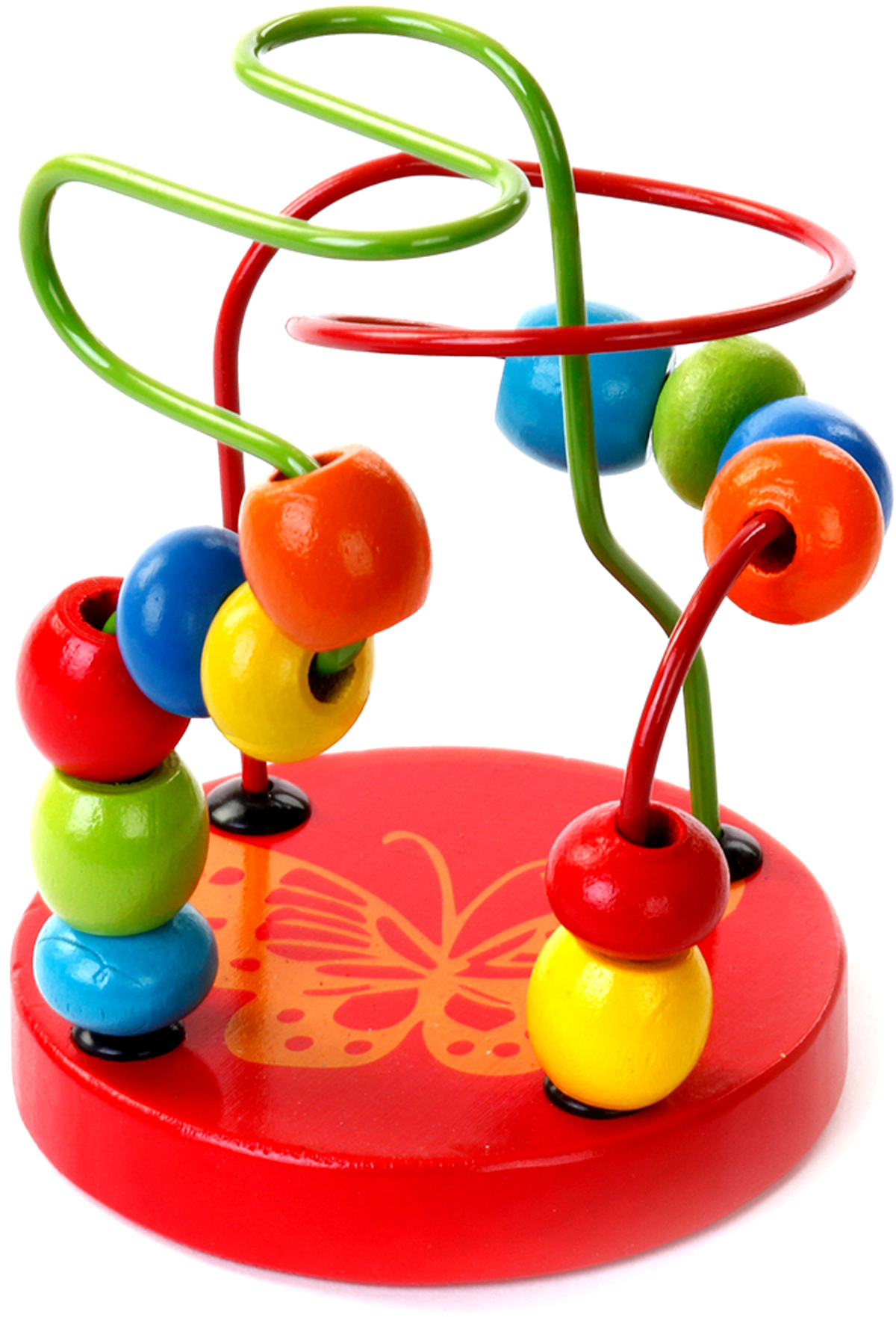Mapacha Лабиринт маленький цвет красный деревянные игрушки mapacha рамка лабиринт кошки мышки
