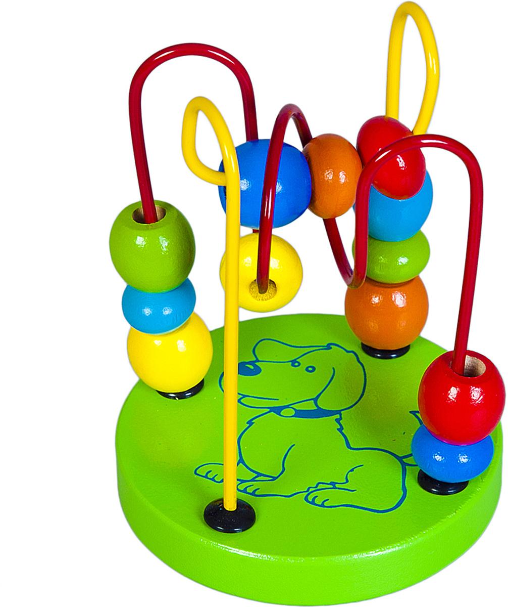 Mapacha Лабиринт цвет зеленый деревянные игрушки mapacha рамка лабиринт кошки мышки