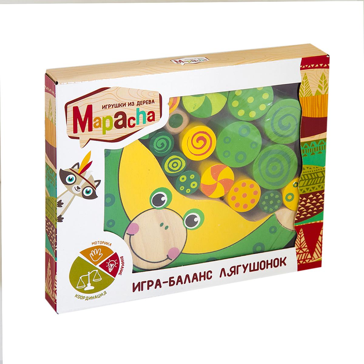 Mapacha Обучающая игра Баланс Лягушонок фигурки игрушки prostotoys игрок 5 метеор шайбу шайбу