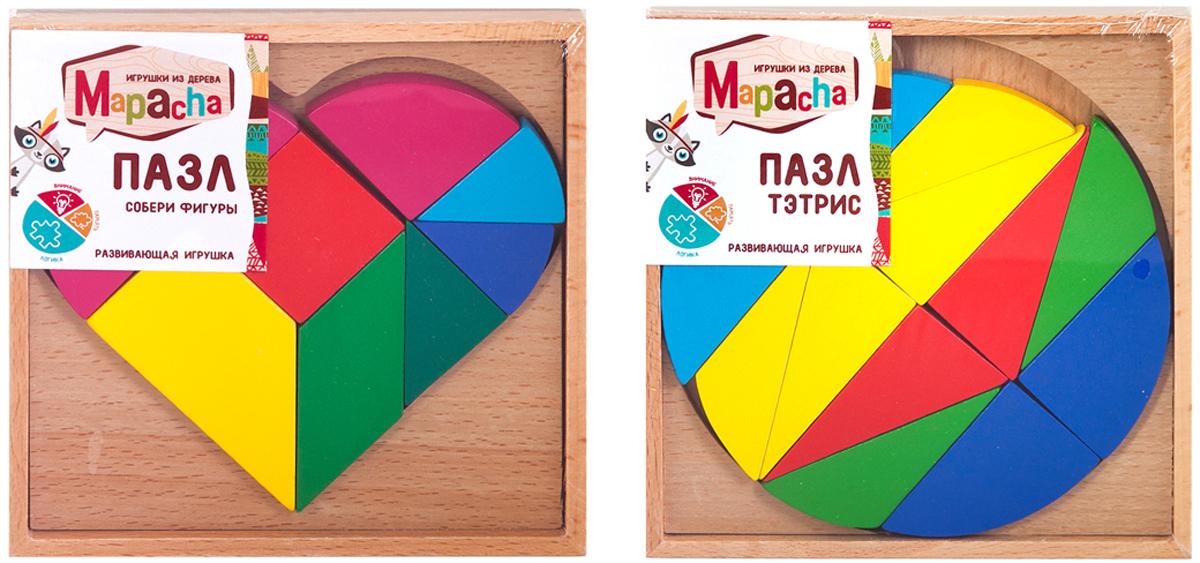 Mapacha Пазл для малышей Собери фигуры