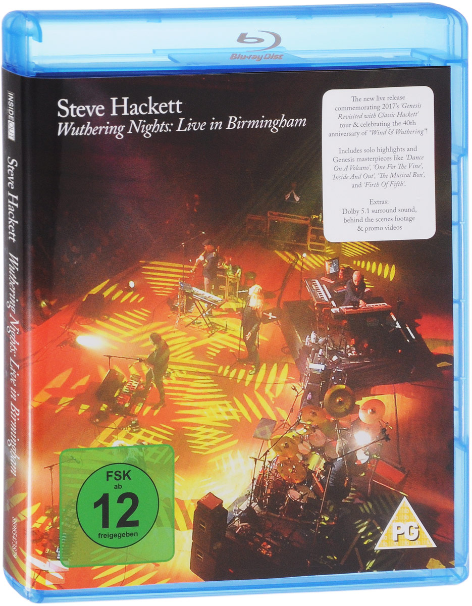 Steve Hackett. Wuthering Nights: Live In Birmingham (Blu-ray) видеоигра для pc медиа rise of the tomb raider 20 летний юбилей