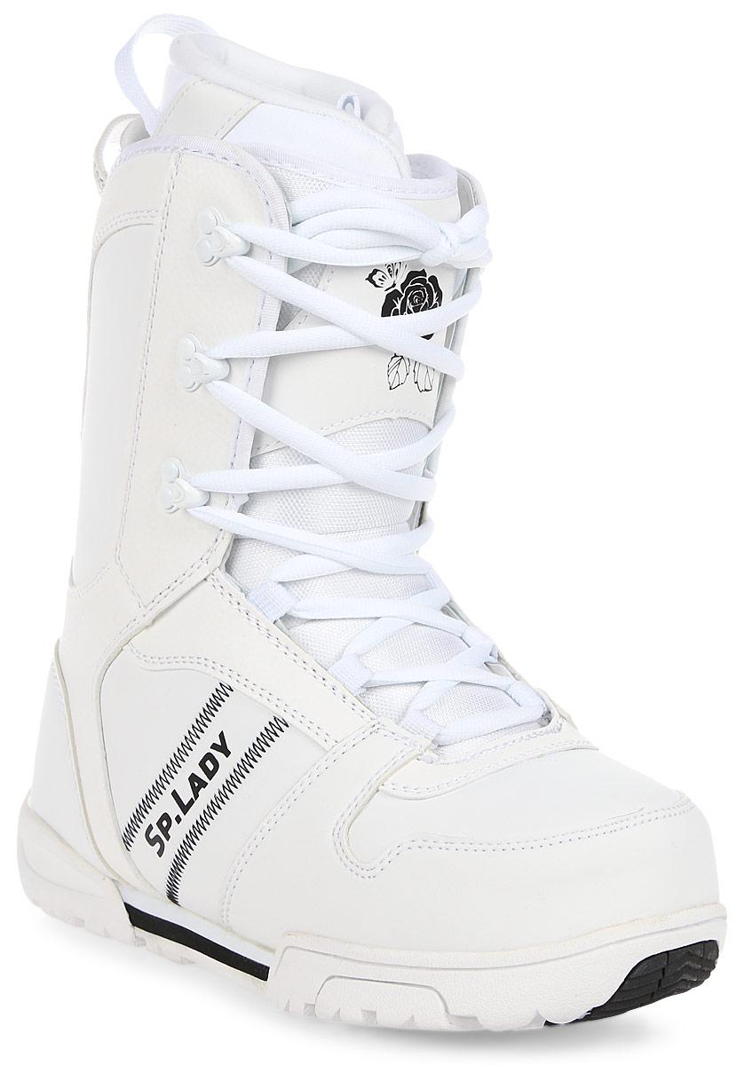Ботинки для сноуборда женские BF Snowboards Special Lady, цвет: белый. Размер 38