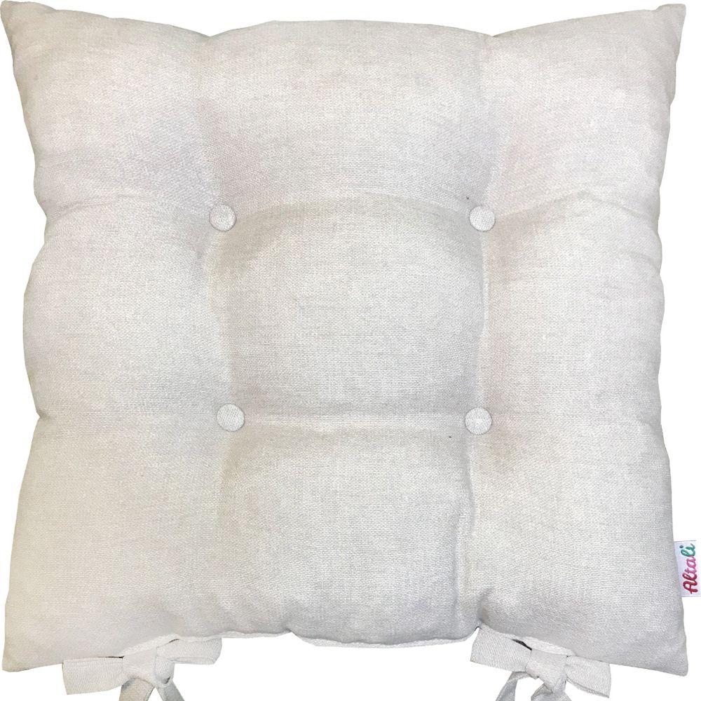Подушка на стул Altali Бьянка, цвет: бежевый, 41 х 41 см подушки на стул t