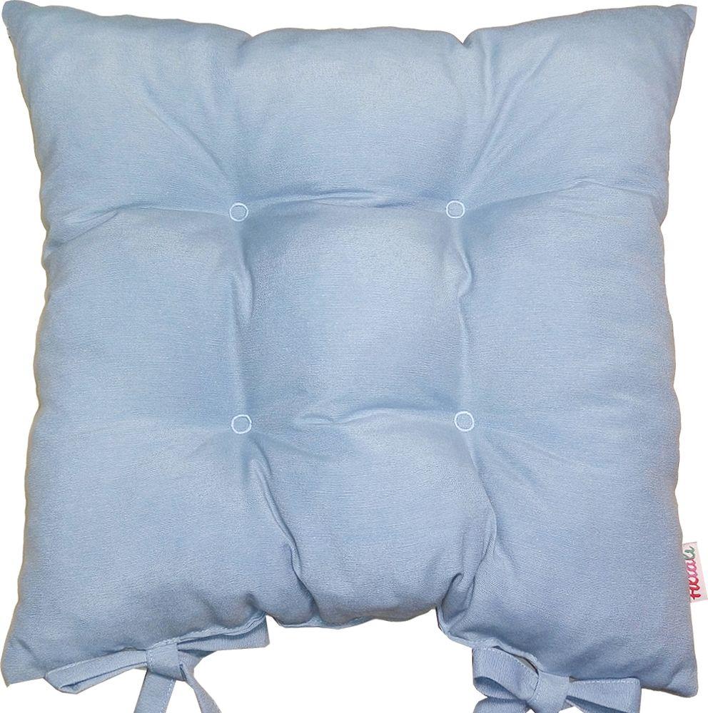 Подушка на стул Altali Blue Сeilo, 41 х 41 смP705-Z148/1Подушка на стул изготовлена из натуральной хлопчатобумажной ткани. Цветовое решение тканипозволяет оформить пространство кухни, веранды, столовой. Внутренний наполнитель подушкисостоит из мягкого, непроминаемого измельченного пенополеуретана, что обеспечиваеткомфорт при длительном времяпрепровождении за столом.Подушку можно стирать притемпературе 30% и гладить на среднем режиме. Для фиксации на стуле предусмотрены завязки.