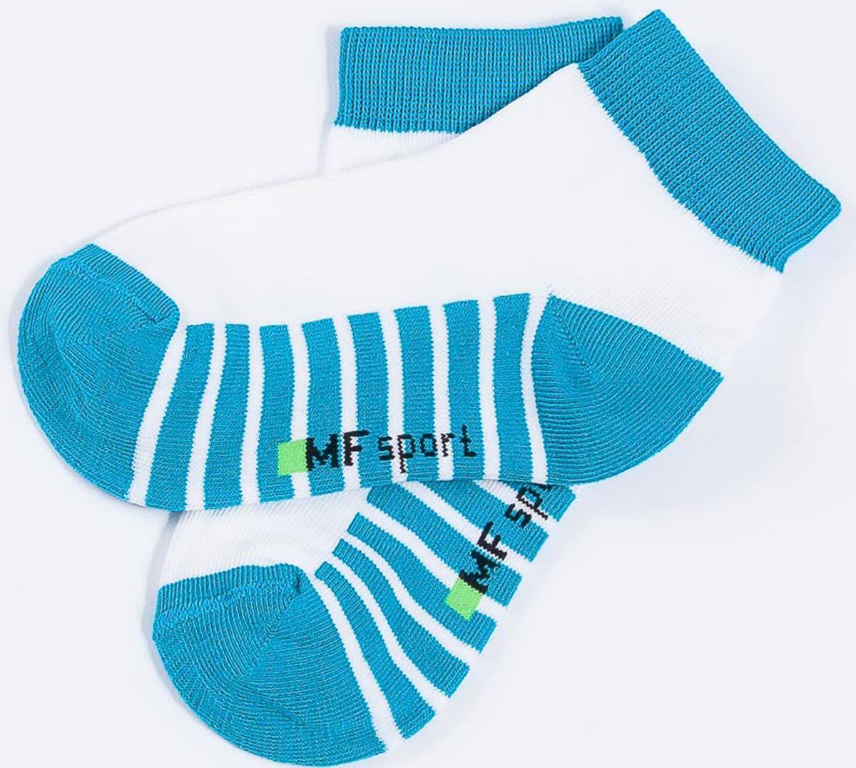 Носки детские Mark Formelle, цвет: изумрудный. 404C-314_B3-6404C. Размер 28/30404C-314_B3-6404C