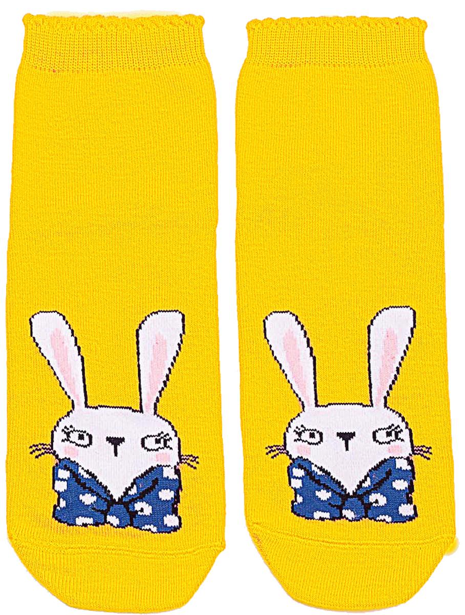 Носки детские Mark Formelle, цвет: желтый. 401K-441_B4-6401K. Размер 37/38401K-441_B4-6401K