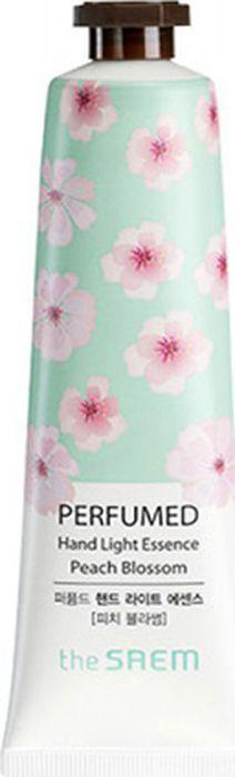 The Saem Крем-эссенция для рук парфюмированный Perfumed Hand Light Essence Peach Blossom, 30 млСМ1581Увлажняет кожу рук, питает витаминами и минералами. Защищает кожу рук от негативного воздействия внешней среды. Оказывает омолаживающий эффект. Подтягивает кожу, делает ее упругой и эластичной. Повышает тонус кожи. Оказывает заживляющее действие. Питает ногти рук.