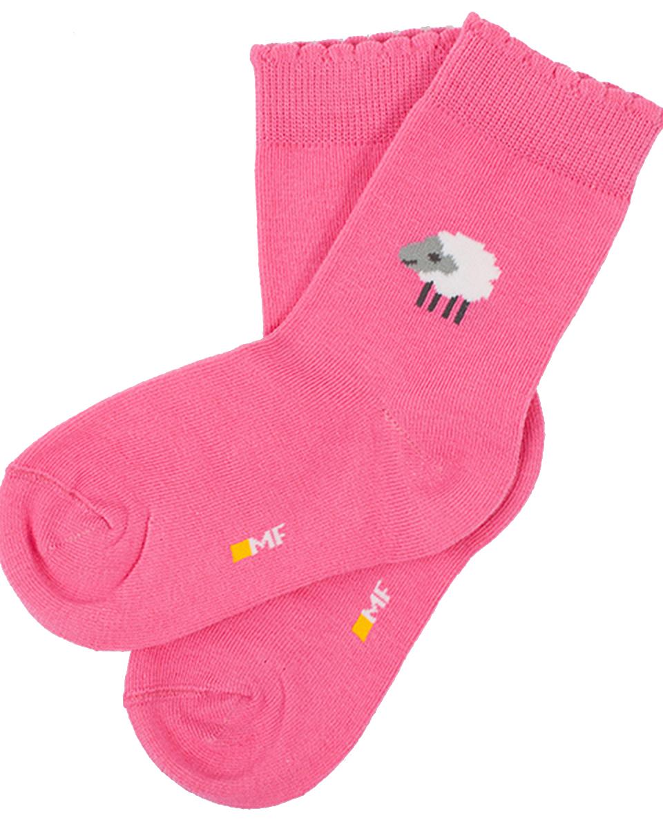 Носки детские Mark Formelle, цвет: ярко-розовый. 401K-017_B3-6401K. Размер 28/30