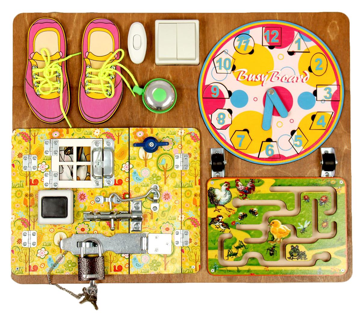 Нескучные игры Бизиборд Для девочек
