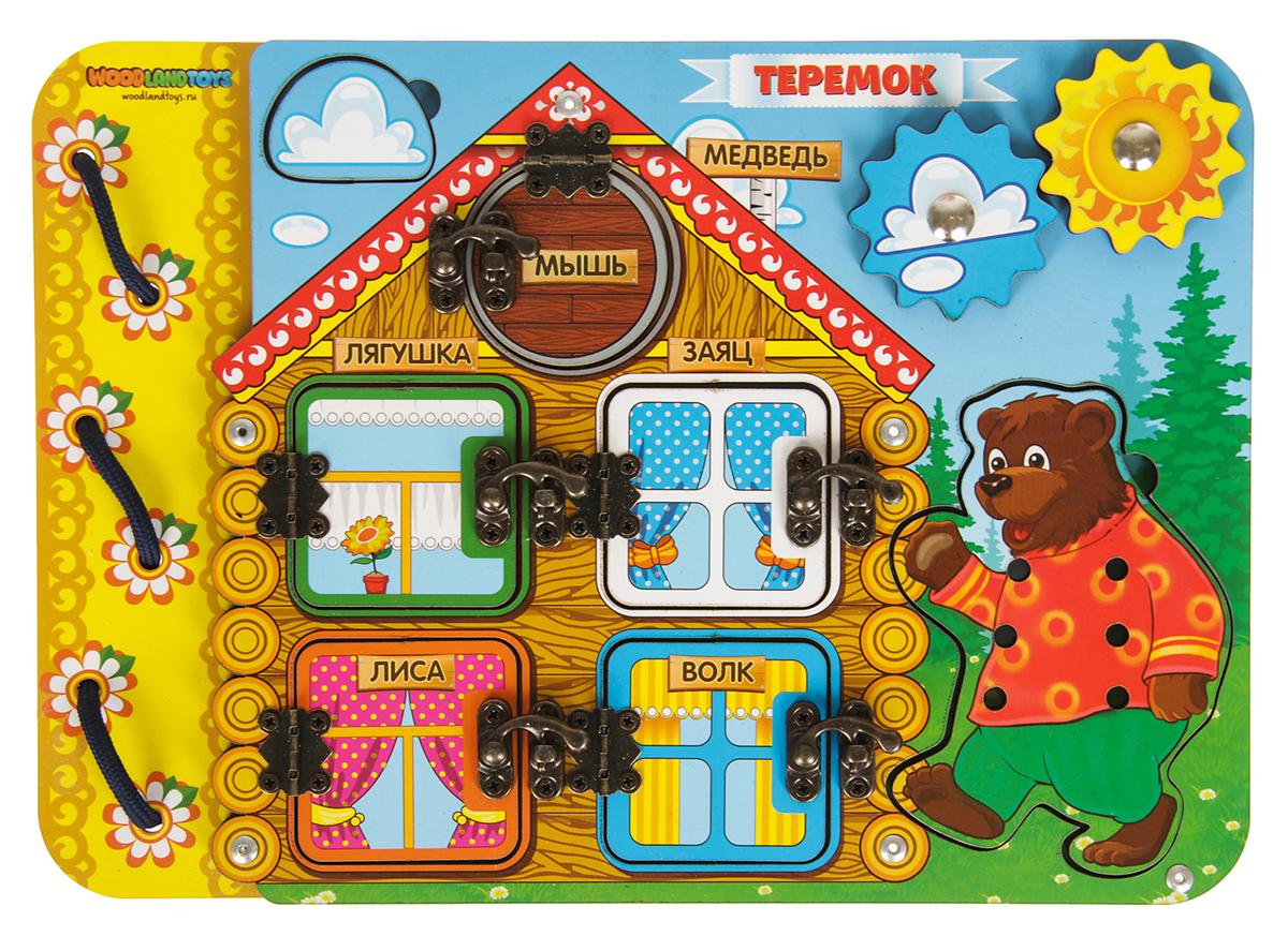 WoodLand Toys Рамка-вкладыш Теремок