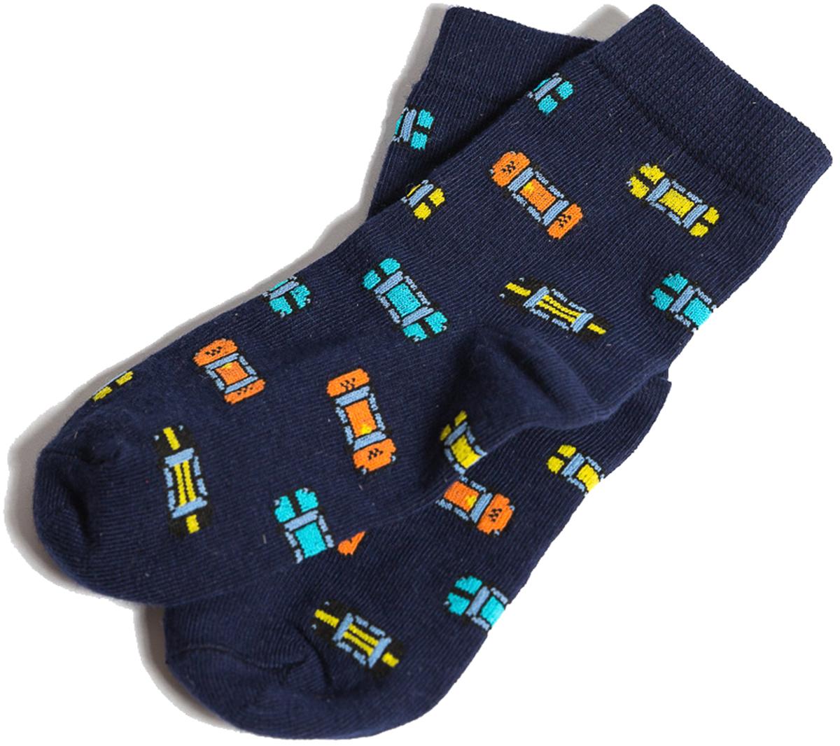 Носки детские Mark Formelle, цвет: темно-синий. 400K-534_B3-8400K. Размер 25/27