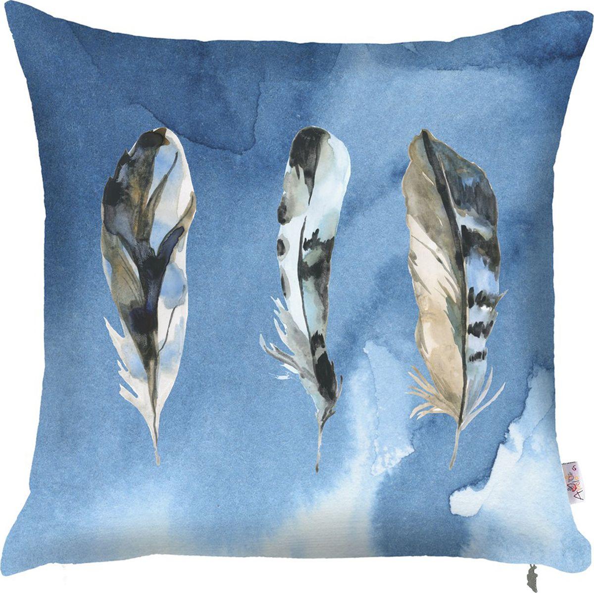 Чехол для декоративной подушки Apolena Blue collection, 43 х 43 см. P702-7911/1P702-7911/1