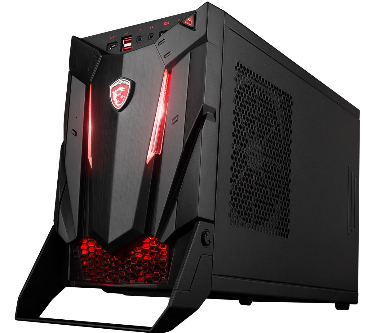 MSI Nightblade 3 VR7RC-040RU, Black настольный компьютерVR7RC-040RU-B7770010668G1T012S10SHAMSI Nightblade 3 - это серия мощных игровых ПК, безграничные возможности которых прекрасно умещаются в стильном, компактном корпусе. Тем геймерам, что любят брать свой боевой арсенал на каждую геймерскую вечеринку, понравится удобная ручка на передней грани корпусов Nightblade. Отличаясь удобным апгрейдом, десктопы Nightblade были созданы для любителей современных хитов и игр будущего.На игровые десктопы MSI устанавливаются видеокарты NVIDIA новейшего поколения. Производительность GPU NVIDIA GeForce GTX 10 с архитектурой Pascal в сравнении с определёнными моделями серии GeForce GTX 9 возросла более чем на 60%. Благодаря уникальной системе охлаждения и особым игровым возможностям десктопы MSI позволяют раскрыть весь потенциал новейших видеокарт NVIDIA GeForce GTX 10.Запускайте игры ещё быстрее с Intel Optane! Теперь ты сможешь наслаждаться высокой производительностью SSD на обычных HDD. Технология Intel Optane - это беспрецедентное сочетание высокой пропускной способности, низкого уровня задержек, удобства использования и продолжительного срока службы.Сделайте ваш игровой ПК уникальным с помощью Mystic Light. Пылающий огонь или холодный лед - все в ваших руках! По вашему вкусу вы можете выбрать из палитры любой цвет и добавить подходящий светодиодный эффект.Благодаря аудиокомпонентам премиум-качества технология MSI Audio Boost обеспечивает наивысшее качество звука, с которым геймплей становится по-настоящему захватывающим.Погружайтесь в виртуальные миры ещё глубже с объёмным звучанием Nahimic VR. Большинство VR-игр будущего будут поддерживать звук 7.1. Nahimic VR - это первое в мире решение, раскрывающее всю прелесть звука 7.1 на стандартных стерео-наушниках. Особые алгоритмы обработки сигнала значительно улучшают 3D-аудиосцену, воспроизводимую через HDMI или USB. Тандем VR-технологий и 3D-звучания гарантирует полное погружение в захватывающие VR-миры.Audio Boost представляет с