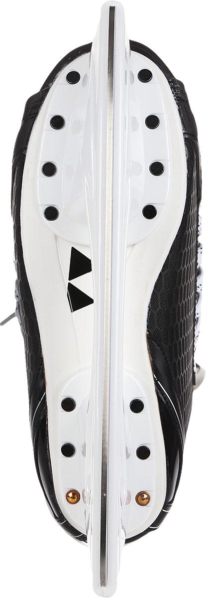 """Коньки хоккейные мужские Fischer """"CT250 SR"""", цвет: черный. H04017. Размер 41"""