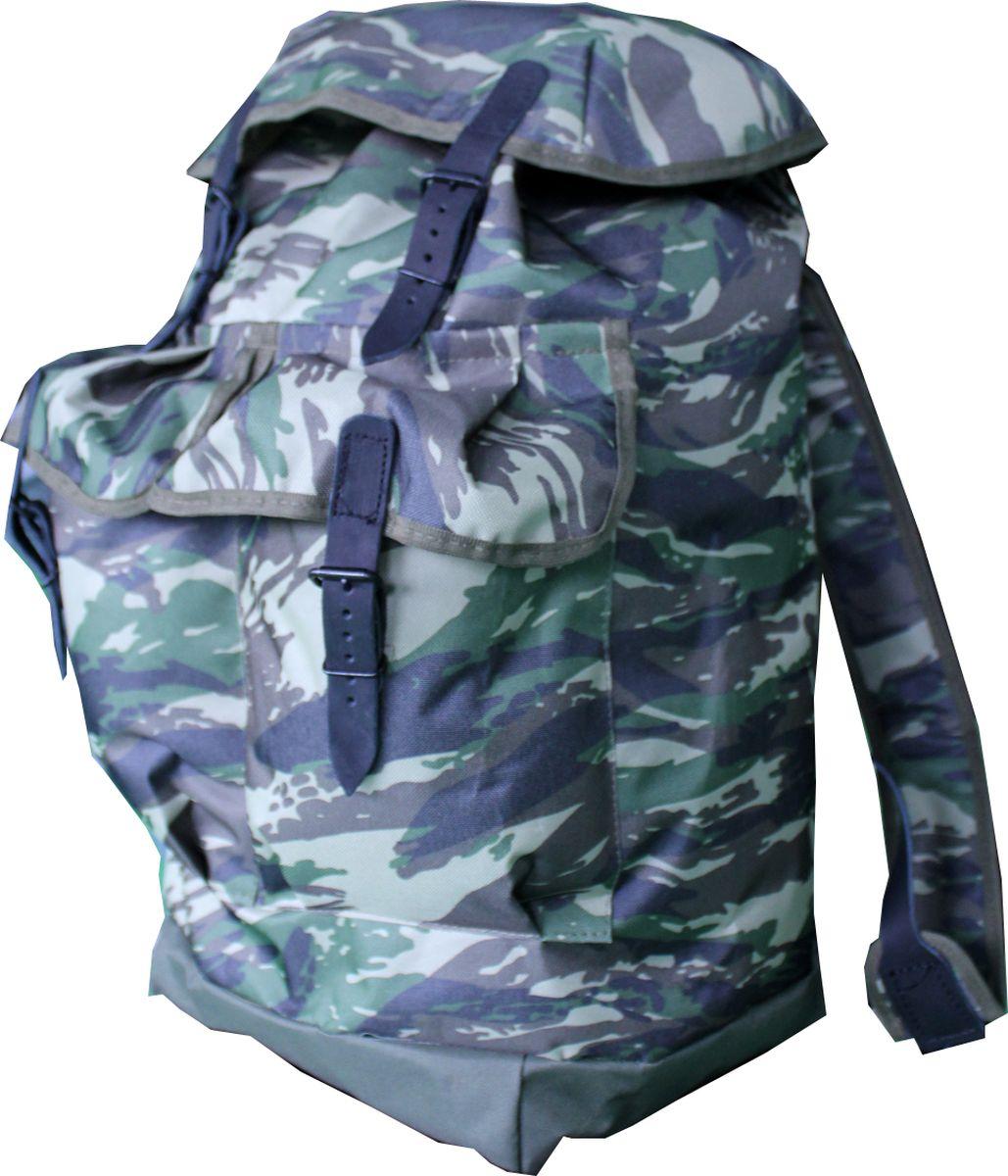 Рюкзак туристический Каприкорн Таежный У, 50 л54740Классический рюкзак с двумя карманами объемом 50 литров.Материал: Oxford 600D PVC (100% полиэстер с ПВХ покрытием; 450 гр/м2)Фурнитура: металл, натуральная кожа.