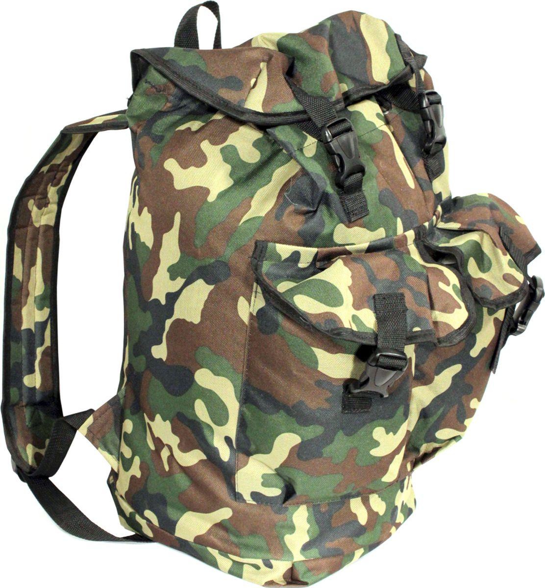 Рюкзак туристический Каприкорн Таежный Люкс, 30 л62500Классический рюкзак с двумя карманами объемом 30 литров.Мягкие плечевые ремни с регулируемой длиной. Застежки карманов и верхнего клапана на стропе с фастексами.Материал: Oxford 600D PVC (100% полиэстер с ПВХ покрытием; 450 гр/м2)
