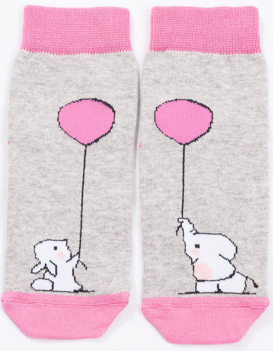 Носки детские Mark Formelle, цвет: ярко-розовый. 400K-494_B3-6400K. Размер 25/27400K-494_B3-6400K