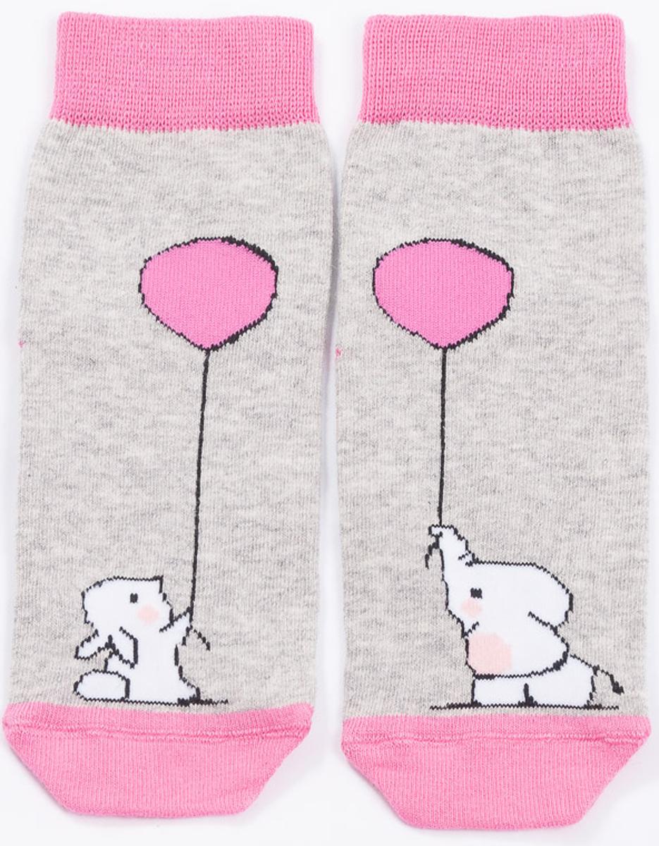 Носки детские Mark Formelle, цвет: ярко-розовый. 400K-494_B3-6400K. Размер 28/30 лонгслив mark formelle лонгслив