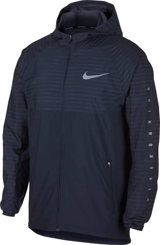 Ветровка мужская Nike ESSNTL JKT HD NV, цвет: темно-синий. 891687-451. Размер L (50/52)891687-451