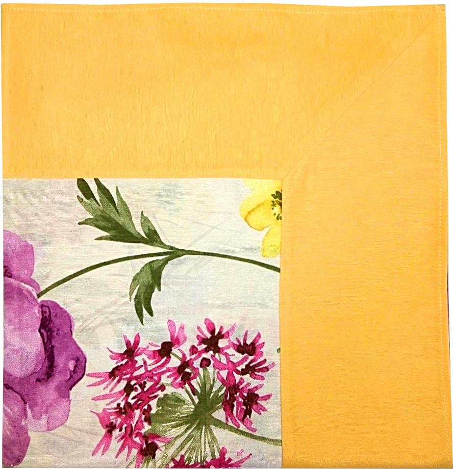 Скатерть Altali Джозефина, 170 х 170 см. P744-1802/1P744-1802/1Скатерть с рисунком из новой коллекции Altali изготовлена из натуральной плотной испанскойткани (хлопок). Высокие экологические свойства ткани позволяют использовать изделие нетолько в качестве декоративного оформления, но и для сервировки обеденного стола. Дизайнскатерти удачно сочетается с остальными элементами коллекции, а также с однотоннымикомпаньонами. Скатерть имеет универсальный размер и красиво смотрится как на круглом,овальном, так и на прямоугольном столе.