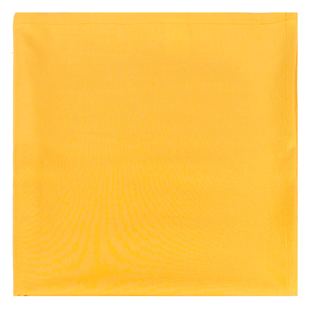 Скатерть Altali, квадратная, цвет: желтый, 170 х 170 смP734-Z136/1Однотонная скатерть из новой коллекции Altali изготовлена из натуральной плотной испанской ткани (100% хлопок). Высокие экологические свойства ткани позволяют использовать изделие не только в качестве декоративного оформления, но и для сервировки обеденного стола. Скатерть хорошо сочетается с другими элементами кухонного текстиля и имеет универсальный размер. Красиво смотрится как на круглом, овальном, так и на прямоугольном столе.