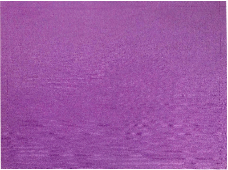 Салфетка для сервировки стола Altali, цвет: сиреневый, 40 х 30 смP710-Z131/1Тканевая салфетка Altali - это стильный и функциональный элемент сервировки стола. Салфетка позволяет защитить скатерть от небольших загрязнений и смягчить звук от соприкосновения столовых приборов со столешницей. Используя салфетки со скатертью или дорожкой на стол из одноименных коллекций, вы с легкостью добьетесь красивого и гармоничного убранства столовой.Для еженедельного ухода рекомендуется ручная или автоматическая стирка.