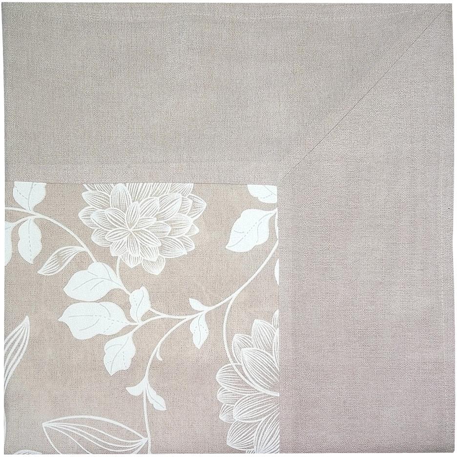 Скатерть Altali Белиссимо, 170 х 170 смP744-1838/1Скатерть с рисунком из новой коллекции Altali изготовлена из натуральной плотной испанскойткани (хлопок). Высокие экологические свойства ткани позволяют использовать изделие нетолько в качестве декоративного оформления, но и для сервировки обеденного стола. Дизайнскатерти удачно сочетается с остальными элементами коллекции, а также с однотоннымикомпаньонами. Скатерть имеет универсальный размер и красиво смотрится как на круглом,овальном, так и на прямоугольном столе.