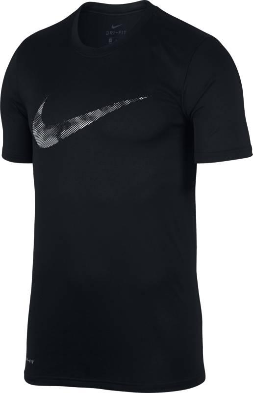 Футболка мужская Nike Dry Tee Leg Camo Logo, цвет: черный. 890170-010. Размер XL (52/54)