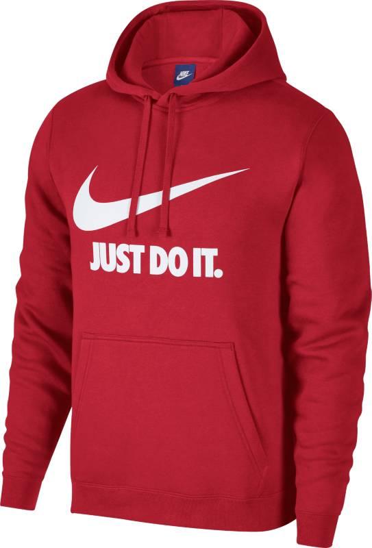 Худи мужское Nike NSW Hoodie PO JDI, цвет: красный. 886496-657. Размер XL (52/54) туалетная вода imperatrice туалетная вода imperatrice clair 50ml
