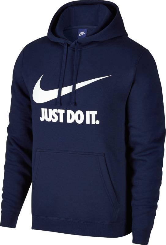 Толстовка мужская Nike NSW Hoodie PO JDI, цвет: темно-синий. 886496-429. Размер XL (52/54)
