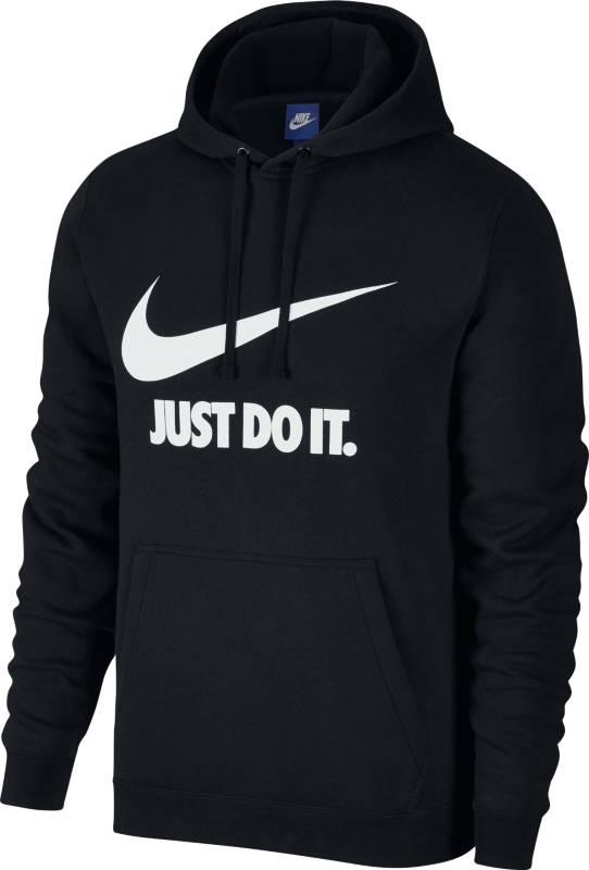 Толстовка мужская Nike NSW Hoodie PO JDI, цвет: черный. 886496-010. Размер XL (52/54)