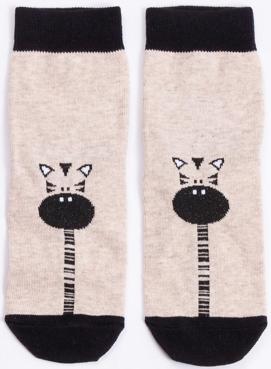 Носки детские Mark Formelle, цвет: бежевый меланж. 400K-461_B3-6400K. Размер 28/30 лонгслив mark formelle лонгслив
