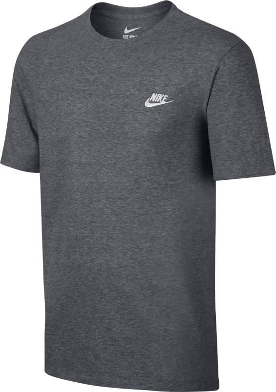 Футболка мужская Nike Sportswear T-Shirt, цвет: темно-серый. 827021-091. Размер L (50/52) футболка мужская mitre цвет голубой 5t40033mscb размер l 50 52