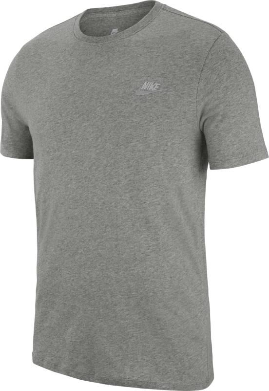 Футболка мужская Nike Sportswear T-Shirt, цвет: серый. 827021-063. Размер L (50/52)827021-063