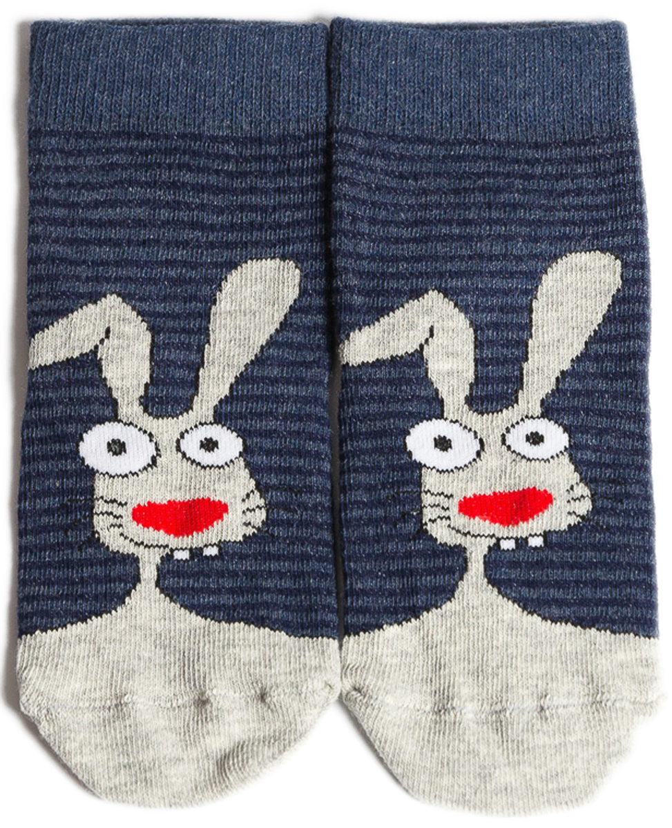 Носки детские Mark Formelle, цвет: джинсовый меланж. 400K-433_B4-8400K. Размер 31/33400K-433_B4-8400K