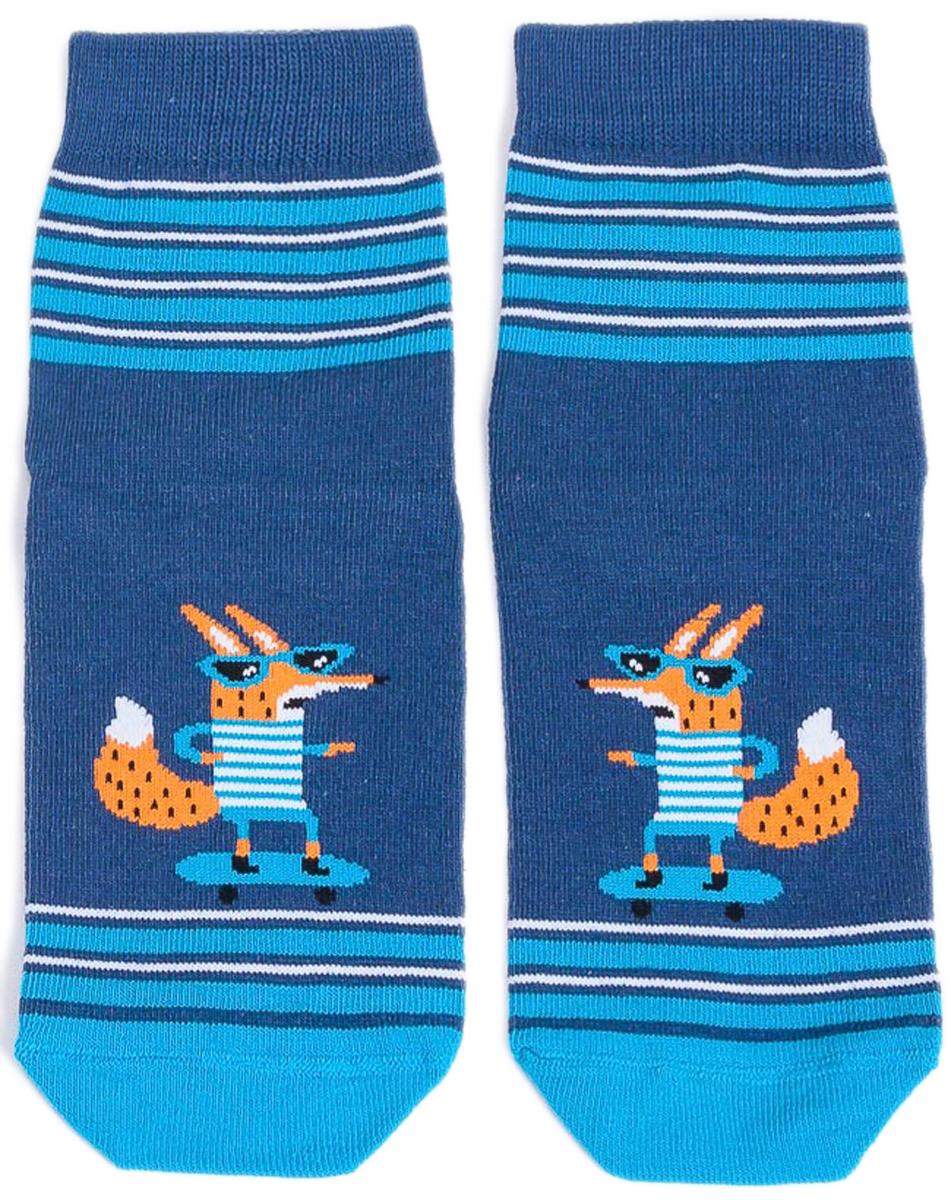 Носки детские Mark Formelle, цвет: джинсовый. 400K-431_B3-6400K. Размер 25/27400K-431_B3-6400K