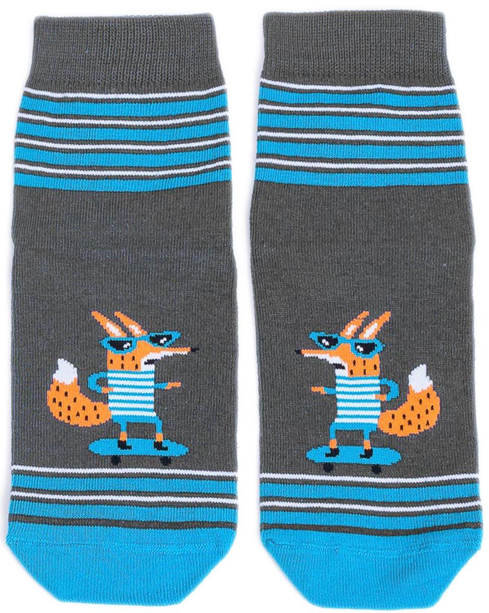 Носки детские Mark Formelle, цвет: темно-серый. 400K-431_B3-6400K. Размер 25/27400K-431_B3-6400K