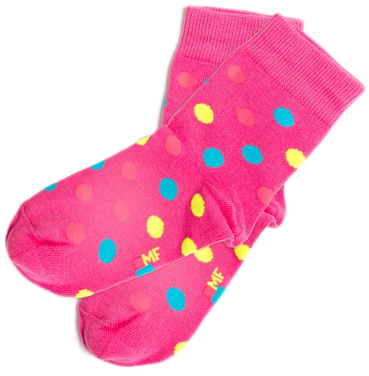 Носки детские Mark Formelle, цвет: ярко-розовый. 400K-382_B3-6400K. Размер 25/27400K-382_B3-6400K