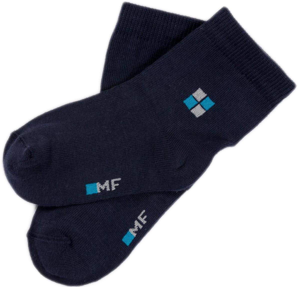 Носки детские Mark Formelle, цвет: темно-синий. 400K-262_B3-6400K. Размер 25/27