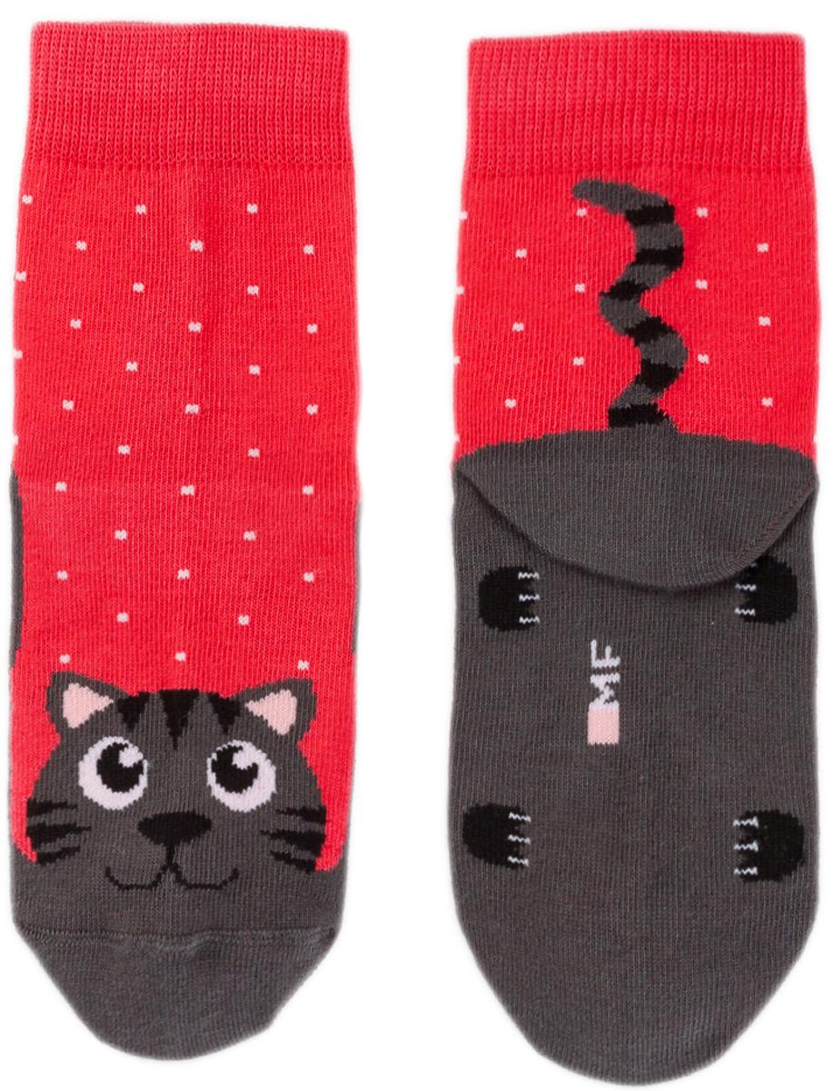 Носки детские Mark Formelle, цвет: темно-красный. 400K-157_B3-6400K. Размер 25/27400K-157_B3-6400K