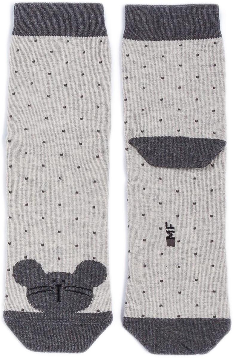 Носки детские Mark Formelle, цвет: светло-серый меланж. 400K-313_B3-8400K. Размер 25/27400K-313_B3-8400K