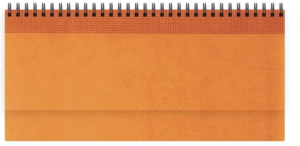 Nazarenogabrielli Планинг недатированный Velvet цвет оранжевыйXX05496810-430Гладкий, матовый материал с основой под нубук. Общий цветовой фон ровный, слегка проступает мельчайший «кожаный» рисунок на полтона светлее. Обложка декорирована вертикальным рельефным орнаментом в форме шашечек.
